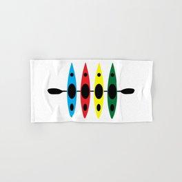 Four Kayaks | DopeyArt Hand & Bath Towel
