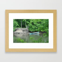 what a nice day Framed Art Print