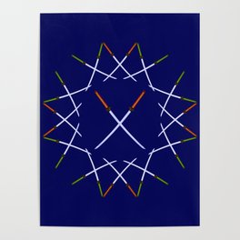 Katana Sword Design version 2 Poster