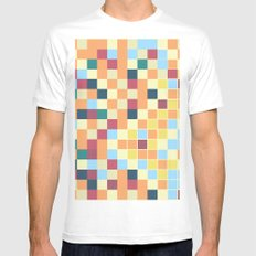 HH05 White MEDIUM Mens Fitted Tee