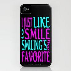 I Like Smiling Slim Case iPhone (4, 4s)