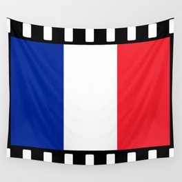 France Flag Film Wall Tapestry