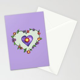Heartily Floral Stationery Cards