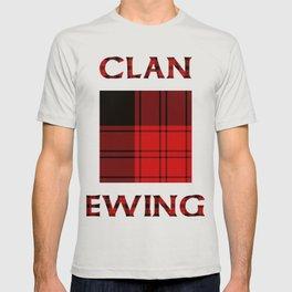 Clan Ewing Tartan T-shirt