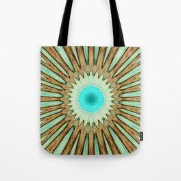 Seamless Kaleidoscope Colorful Pattern LIX Tote Bag