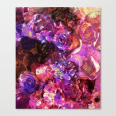 Valley of Roses Canvas Print
