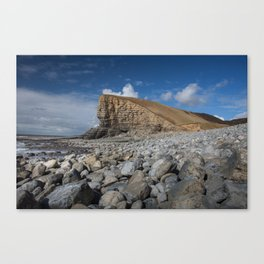 Nash Point Welsh Heritage Coast Canvas Print