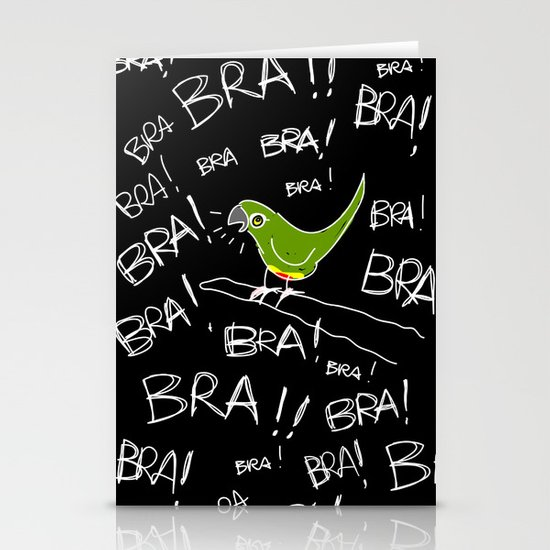 Conure Stationery Cards