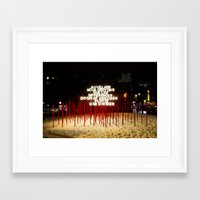 montreal Framed Art Prints featuring Montreal by Yang Jiang