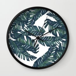 palm tree 4  Wall Clock