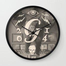 Mors Janua Vitae Wall Clock