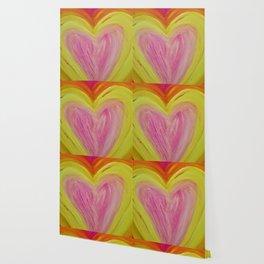 Light Filled Heart Wallpaper