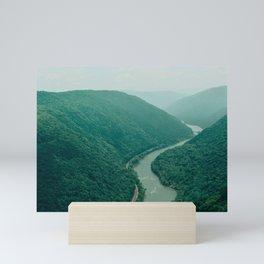 New River Gorge Wilderness Mini Art Print