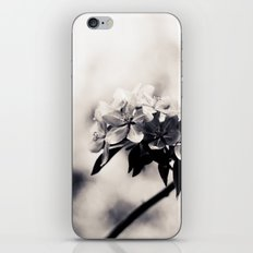 Black and White Flowers iPhone & iPod Skin