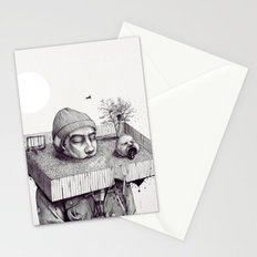 kid please draw me a house Stationery Cards