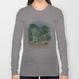 Green Chair - St. Paul Attraction Long Sleeve T-shirt