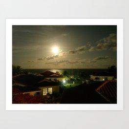 Belize Art Print
