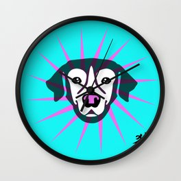 Happy Year of the Dog 2018 Wall Clock