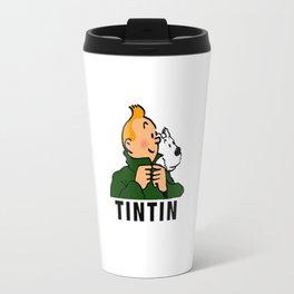 tintin advanture Travel Mug