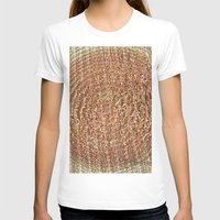 tree rings T-shirts featuring Oak Rings by Michael S.