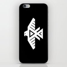 Thunderbird flag - Inverse edition version iPhone & iPod Skin