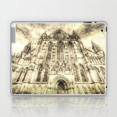 York Minster Cathedral Vintage Laptop & iPad Skin