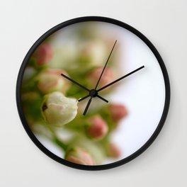 Pear Tree Macro Wall Clock