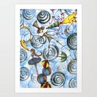 Mr. Kite! Art Print