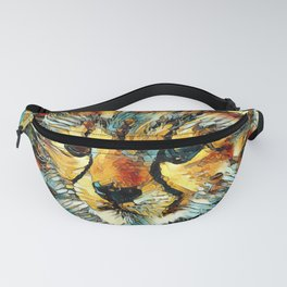 AnimalArt_Cheetah_20170602_by_JAMColorsSpecial Fanny Pack