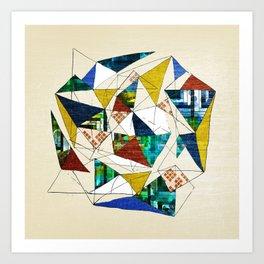 Geo Shapes no.1 Art Print