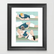 Bunk Buddies for Handsome Devil Press Framed Art Print