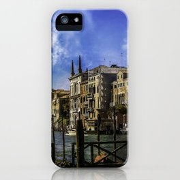 Venitian Vacation iPhone Case