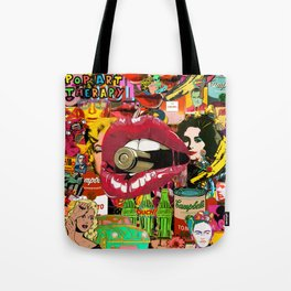 Pop Art Therapy Tote Bag
