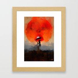 umbrellaliensunshine: atomicherry summer! Framed Art Print
