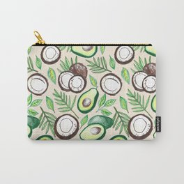 Coconuts & Avocados Carry-All Pouch