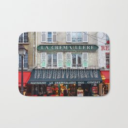 Streets of Paris Bath Mat