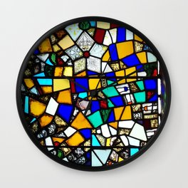 Beauty in Brokenness Andreas 3 Wall Clock