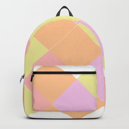 A summer wedding with triangles Backpack