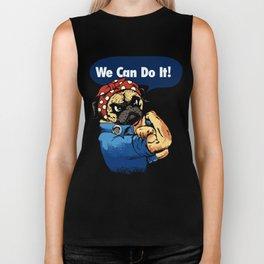 We Can Do It Biker Tank