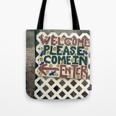 Always welcome Tote Bag