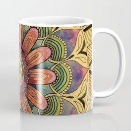 Petals and Leaves Coffee Mug