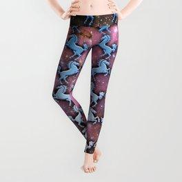 Cosmic Horse Pattern Leggings
