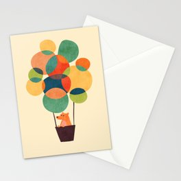 Whimsical Hot Air Balloon Stationery Cards