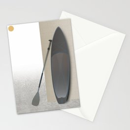 Surf Paddle Board Stationery Cards
