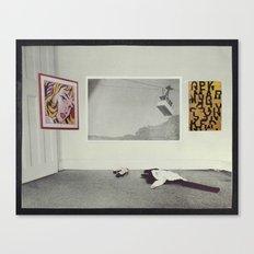 The Progressive Contraction of Love Canvas Print