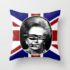 Ding Dong the Witch is Dead Throw Pillow