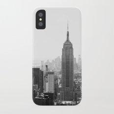 NEW YORK iPhone X Slim Case