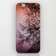 Purple & Fire iPhone & iPod Skin
