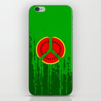 watermelon iPhone & iPod Skins featuring Watermelon by mailboxdisco