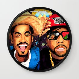 Big Boi and Andre Wall Clock
